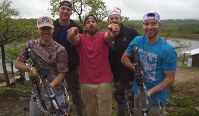 Dude Perfect Crossbow Trick Shots