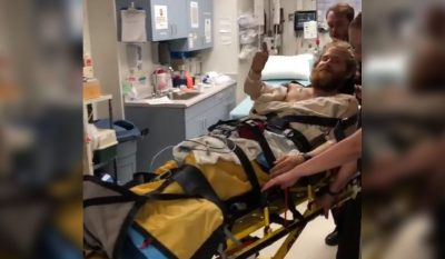 Mike Posner Airlifted