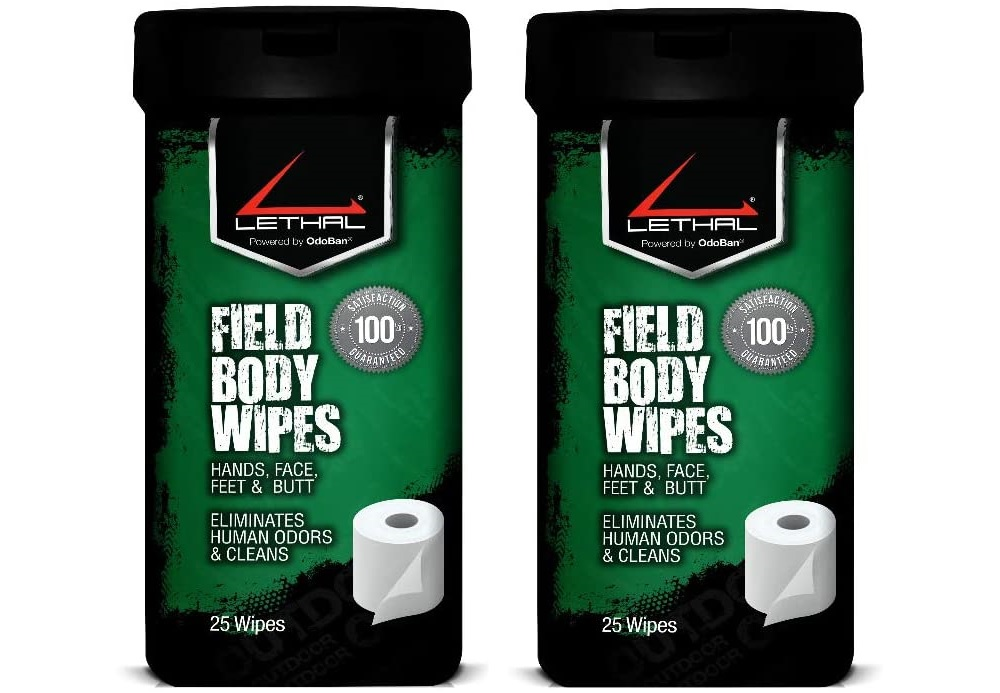 Scent Elimination Products wipes